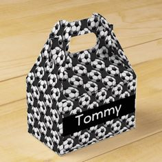 Shop Soccer Design Party Favor Box created by SjasisSportsSpace. Sports Birthday, 9th Birthday, Birthday Parties, Birthday Ideas, Soccer Party Favors, Wedding Party Favors, Wedding Ideas, Favor Boxes, Corporate Events