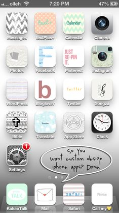 Customized iPhone! Do it yourself with the app Cocoppa I