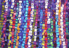 Another Carol Taylor quilt.  I am in love with her work.  And awed by it.