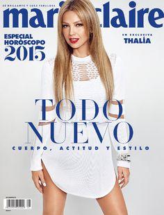 EN EXCLUSIVA: Thalía para Marie Claire México y Latinoamérica