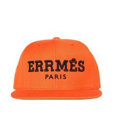 ALEX   CHLOE Orange ! Errmes Snapback Hat (only 44 95f4a1665376