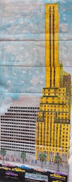 Yellow Skyscraper, New York City