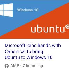 Great april fools day joke guys a few days early but whatever. #microsoft #ubuntu #linux by totalforge64