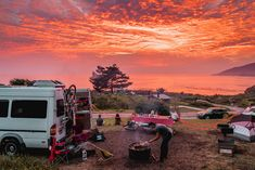 Find Coastal California Comfort at These Big Sur Glamping Spots Big Sur Glamping, Big Sur Lodge, Glamping California, Big Sur Coastline, Burney Falls, Tuolumne Meadows, Rv Campgrounds, California National Parks, Pacific Crest Trail