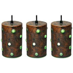 Three Pendant Lamps by Nanny Still for Raak, Amsterdam 800€ http://www.1stdibs.com/furniture/lighting/chandeliers-pendant-lights/