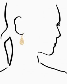 Oriana Teardrop Earrings - sarah wedding?