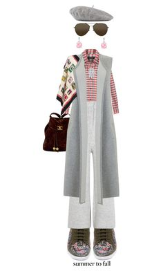 """""""Into The Fall"""" by kathyaalrust ❤ liked on Polyvore featuring Chanel, Isabel Marant, Alexander McQueen, STELLA McCARTNEY, Mint Velvet, Roberto Coin, Gucci, StyleRocks, Linda Farrow and layers"""