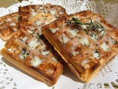 La Juani de Ana Sevilla: Gofres de pizza (o wafles)