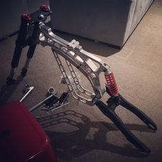 CNC pitbike with conversion - Endless Sphere Motorcycle Design, Bicycle Design, Eletric Bike, Bike Cart, Electric Bike Kits, Cx 500, Bike Magazine, Motorised Bike, Pocket Bike