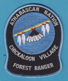 alaska tribal police | ATHABASCAN ALASKA TRIBAL FOREST RANGER POLICE SHOULDER PATCH
