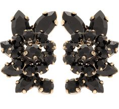 Martine Wester - STARGAZER CRESENT JET EARRINGS, £27 (http://martinewester.com/products/stargazer-cresent-jet-earrings.html)