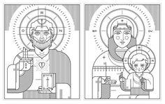 Orthodox icons | Ryan Clark in Illustrations