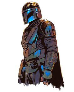 Cuadros Star Wars, Mandalorian Armor, Star Wars Wallpaper, Disney Wallpaper, Counting Stars, Star Wars Fan Art, The Force Is Strong, Galaxy Art, Star Wars Clone Wars