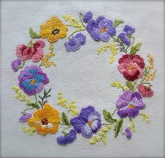 Check out this item in my Etsy shop https://www.etsy.com/uk/listing/532960491/sumptuous-hand-embroidered-vintage-pansy