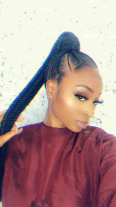 Feed In braids stitch braids # feed in Braids updo Ponytail braids feed In braid. Feed In braids stitch braids # feed in Braids updo Ponytail braids feed In braids TEMILONDON # ghana Braids beyonce # beyonce Braids updo