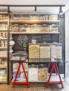 Bulk Store, Eco Store, Shop Interior Design, Store Design, Zero Waste Grocery Store, Tienda Natural, Supermarket Design, Food Park, Bear Shop