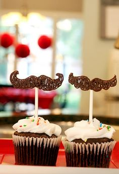 How To Make Edible Mustaches Without A Candy Mold