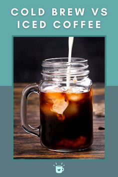 Cold Coffee Drinks, Cold Brew Coffee Recipe, Making Cold Brew Coffee, Hot Coffee, Iced Coffee, Smoothie Drinks, Smoothies, Keurig Cleaning, Ground Coffee Beans
