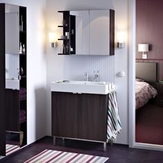 LILLÅNGEN; Furniture that makes your bathroom bigger.