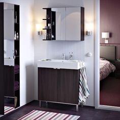 LILLÅNGEN; Furniture that makes your bathroom bigger.