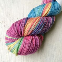 Super pretty Aran weight merino just loaded into tonight's shop update ( I loaded this one first so I don't keep it!)