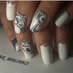 Мастер ➡️ @anna_malinko г.Борисов _________________________ #ногти…