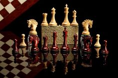 Luxury Chess Pieces Wooden Online From India