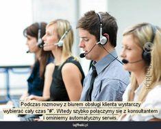 Jak dzwonić na infolinię? - Podczas rozmowy z biurem obsługi klienta…
