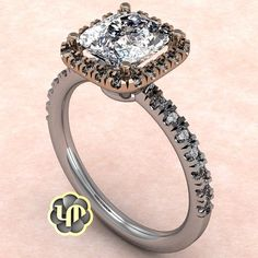 #nofilter #princesscut #halo #rosegold #whitegold #twotone #round #brilliance #proposal #love #bestgift #hers #gold #ring #simple #chic #classy #idos #sayyes #marriage #perfection #custommade #moment #jewelry #designs