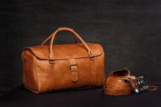 This is classically designed, authentically styled, vintage look, hand crafted genuine long-lasting buffalo leather duffle bag. The inner lining is made from soft fabric. Since it is being handmade, each bag is unique! Each bag is individually crafted. The more is used, the softer,
