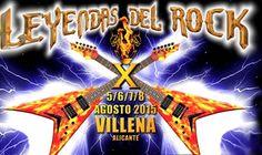Ya están publicados en la página web del Leyendas del Rock, los horarios de los conciertos del festival que se celebrará los días 5, 6, 7 y 8 de agosto.