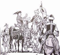 Az  Hét Vezér - The Hungarian seven Tribal Leaders