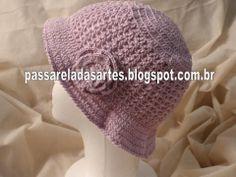 Artes na Passarela: Chapéu lilás