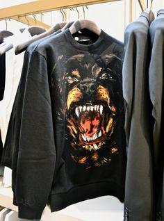 Givenchy sweatshirt.