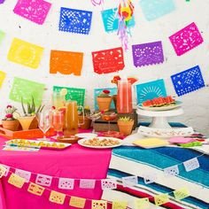 margarita Party table