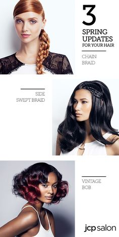 Are you sick of just straightening or curling your hair to make it look glamorous? If you want a quick way to transform your look without a haircut, then these braid. Cute and Easy Braid Tutorials That Are Perfect For Any Occasion. Hair Dos, Your Hair, Hair Chains, Textured Hair, Gorgeous Hair, Cute Hairstyles, Beauty Hacks, Natural Hair Styles, Hair Makeup