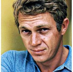 Steve McQueen had a great face! Not perfect, by any means, but unique and expressive. - Ronni