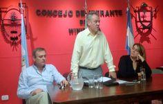 El Ministro Borthiry sigue recorriendo La Pampa estuvo en Winifreda
