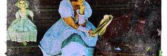 Madeleine lee in blue check summer Ewa I Walla dress