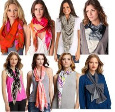The European loop is a classic way to tie a scarf. Simply fold your scarf in half, place it around your neck, pull one end through the loop, and viola.