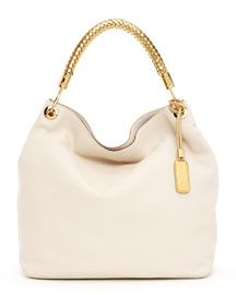 But it's so beautiful <3 Michael Kors Large Skorpios Textured Leather Shoulder Bag