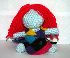 sally. Nightmare before Christmas crochet doll. a work in progress