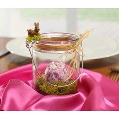 #Ostergeschenk basteln | Wir basteln ein selbstgebasteltes Ostergeschenk. Eine bezaubernde Oster Tischdekoration zum Verschenken! Bastelidee mit ▶Video: http://www.trendmarkt24.de/bastelideen.geschenk-ostern.html#p