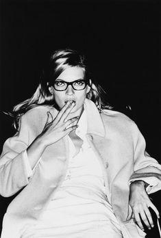 Kate Moss photographed by Ellen von Unwerth, 1990s.