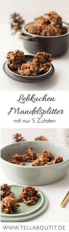 Lebkuchen Mandelsplitter zum Advents-Tee
