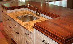 Wood Countertops | Butcher Block Countertops | Wood Bar Tops