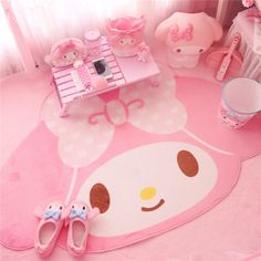 "Kawaii Bowknot My Melody Kitty Carpet Crawling blanket Big 40"" x 59"" Cos Gift in Collectibles, Animation Art & Characters, Japanese, Anime 