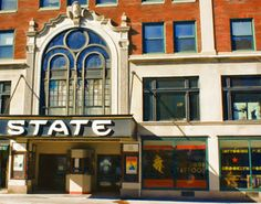 """State Theater and Just Good Tattoos,"" by Clyde McCulley."