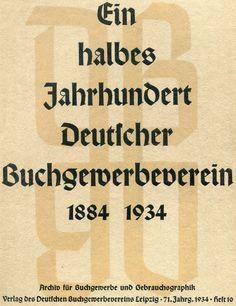 Cover Archiv für Buchgewerbe und Gebrauchsgraphik. 71. Jahrgang, Heft 10 1934