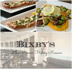 What's that sound? Oh, its your stomach growling at you after a history filled morning at the museum. Well, luckily, Bixby's is located inside the Missouri History Museum, so you won't even have to leave!  @Bixbys #VisitMO